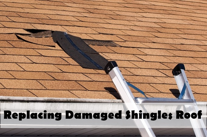 Replacing Damaged Shingles roof
