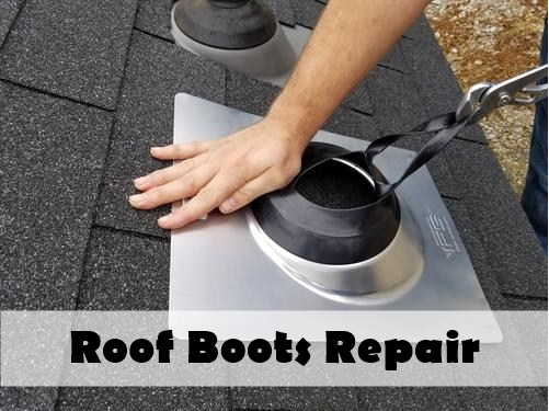 Replacing Damaged Roof Boots