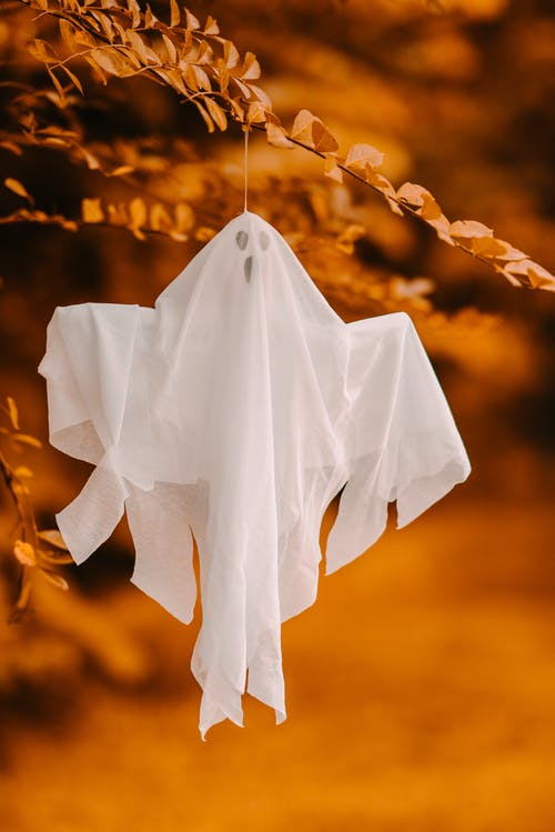 cloth ghost for halloween