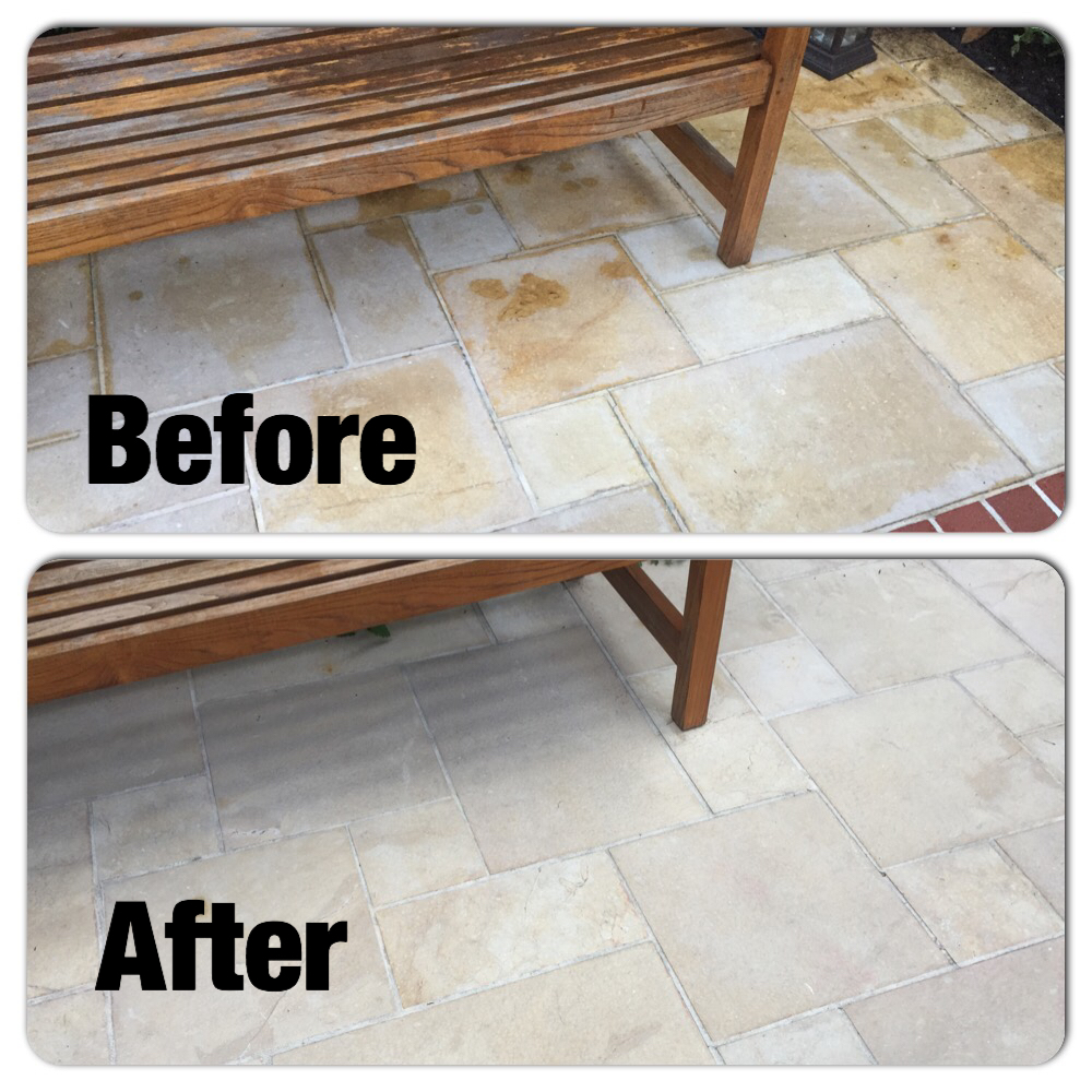 stain removal before and after