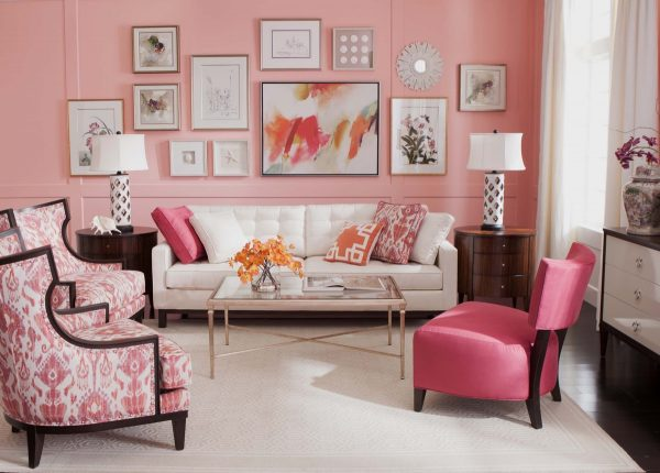 Pink wall for pink lovers