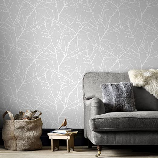 silver wall ideas for bedroom