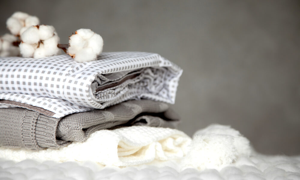 how to fold blankets to save space